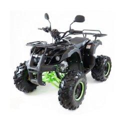 Подростковый квадроцикл бензиновый MOTAX ATV Grizlik 7 125 cc черно-зеленый (электростартер, длинноходная подвеска, до 65 км/ч)