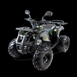 Подростковый квадроцикл бензиновый MOTAX ATV Grizlik-LUX 125 cc зеленый камуфляж (электростартер, длинноходная подвеска, до 65 км/ч)
